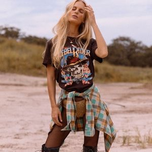 Spell and the Gypsy Rebel Rider Organic Tee